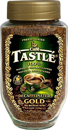 Cafe Tastle Decaffeinated Freeze Dried Instant Coffee, 7.14 Ounce ** Be sure to check out this helpful article.
