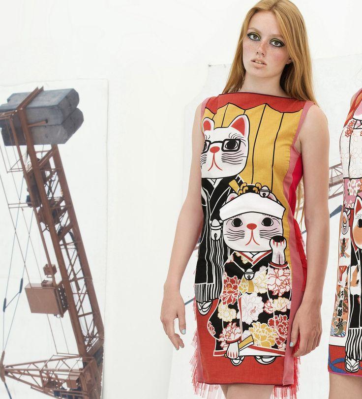 CAT DRESS JAPAN couture tulle applique haute by NATIPUREIDEA