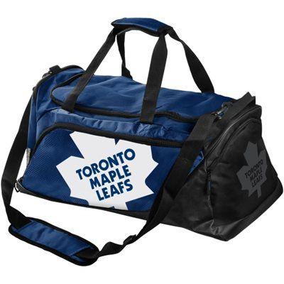 Toronto Maple Leafs Medium Duffle Bag - Navy Blue