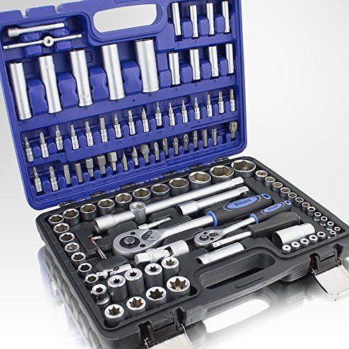 108 Teiliges Werkzeugkoffer Knarrenkasten Werkzeugset Werkzeugkasten Ratschenkasten Steckschl�ssel Bit Imbus Werkzeug Set