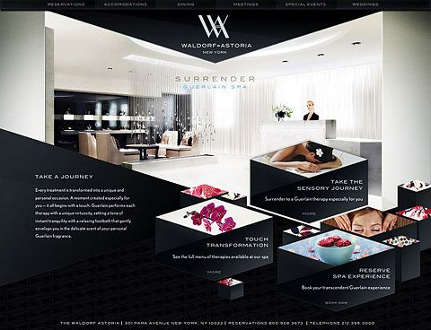 7 Best Hotel Spa Web Design Layouts Images On Pinterest
