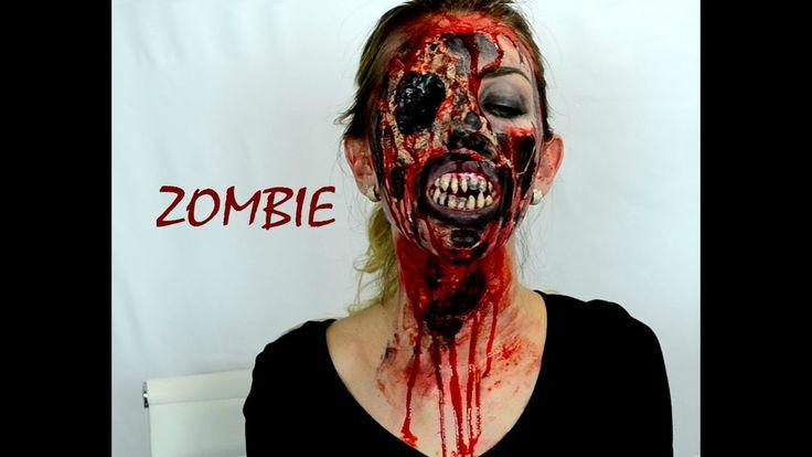 Зомби Апокалипсис | Макияж на Хеллоуин