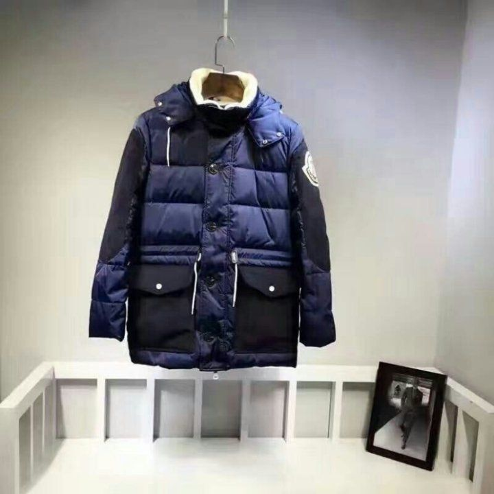 Moncler 몽클레어 2016FW 빅와펜 덕다운 하프자켓