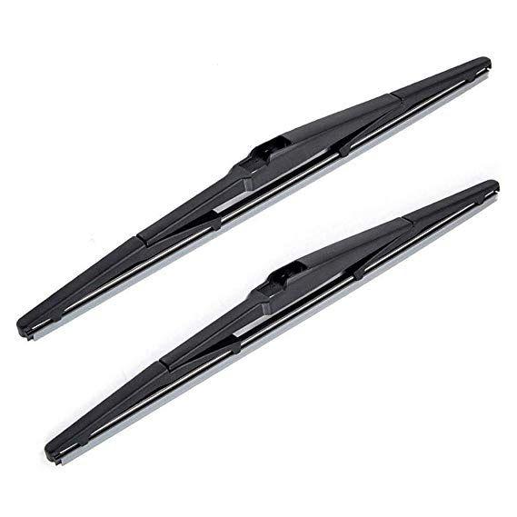 Otuayauto Rear Windshield Wiper Blades 2 Pieces Of 14 Car Back Window Wiper For Toyota Corolla Jeep Cherokee Scion Xb Hyundai Accent Chevy Hhr Kia Rio