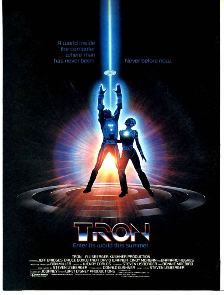 Tron was an interesting movie, because it is beginning to illuminate the eventual evolution of the representation of technology and computers in film. Description from artsncrafty.blogspot.com. I searched for this on bing.com/images