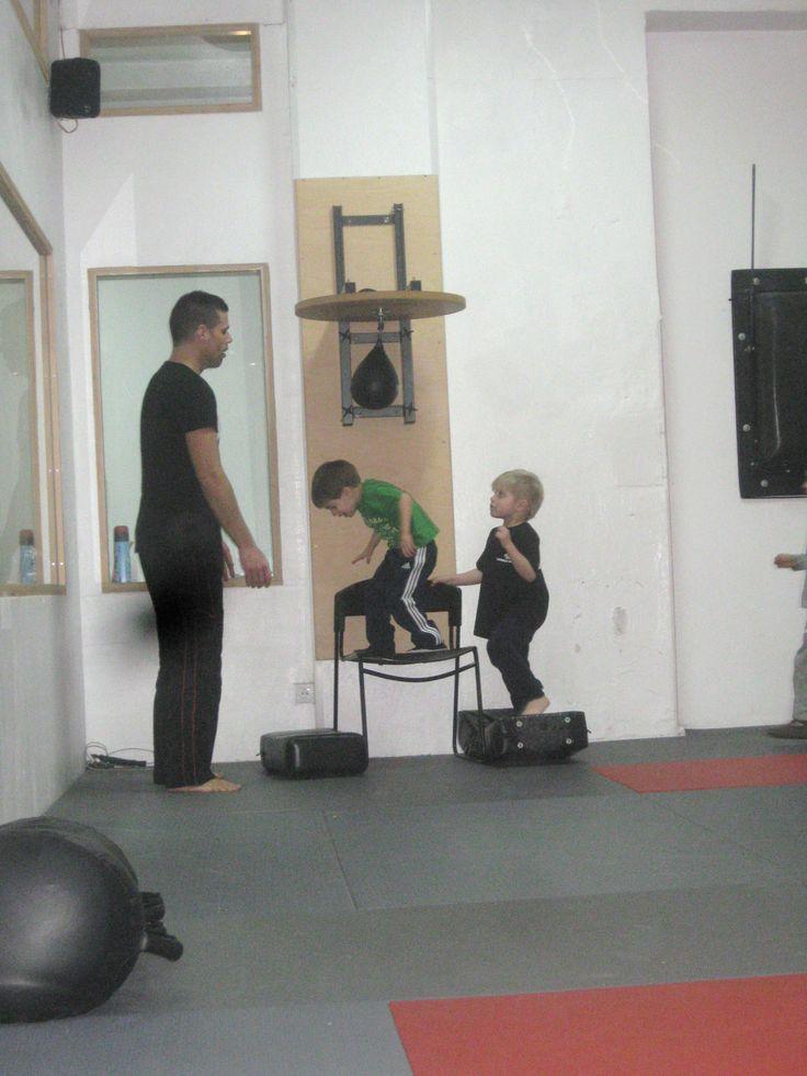 Kinder Kickboxen 5 bis 8 Jahre  @ Sportschule Randori-Pro Berlin (www.randori-pro.de) www.gymtojump.de