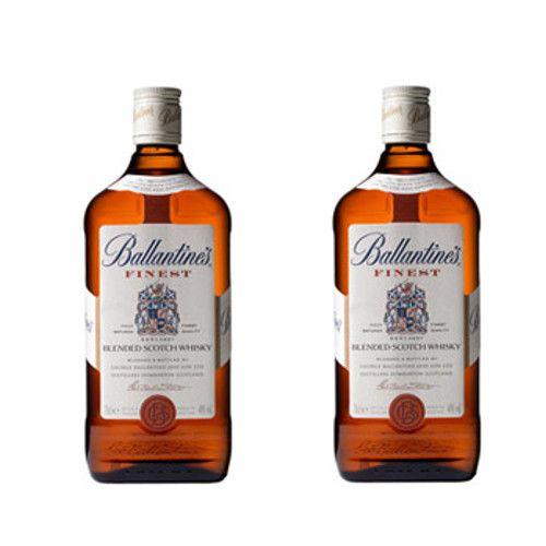 Whisky Ballantines 70 Cl 40º - LOT DE 2