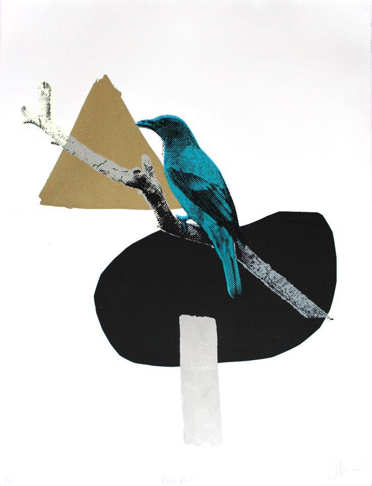 Print Club London – Blue Bird
