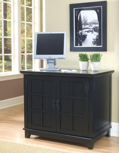 Arts And Crafts Compact Computer Cabinet Black By Home Styles. $689.04.  Assembly Required Assembly