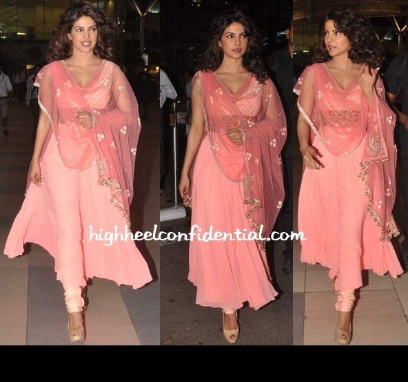 @Sam Chi & @Manish Malhotra Rose Pink #Divalicious