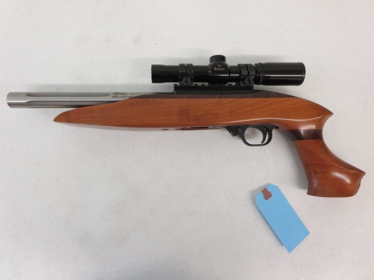 On Consignment: Custom 10/22 Charger w/ Burris Scope .22LR $450 - http://www.gungrove.com/on-consignment-custom-1022-charger-w-burris-scope-22lr-450/