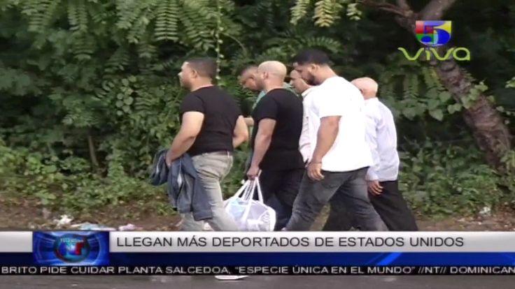 Llega Grupo De 60 Dominicanos Repatriados Acusados De Diferentes Delitos