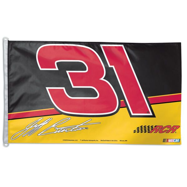 Jeff Burton One-Sided 3' x 5' Flag - $17.99