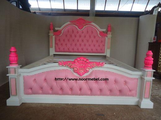 Tempat Tidur Mewah Anisa Duco Pink Duco Pink Tempat Tidur Mewah Anisa Duco Pink Duco Pink