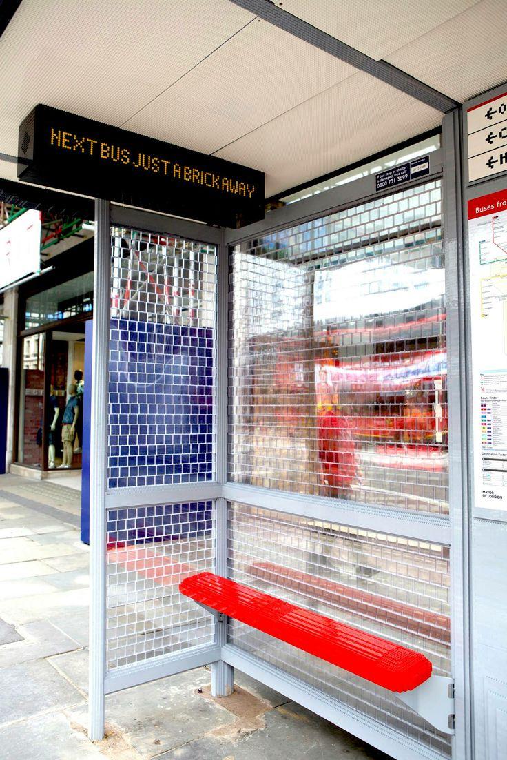 #LEGOBusStop #RegentStreet