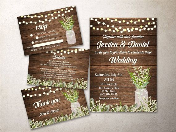 the 25+ best wedding invitation kits ideas on pinterest, Wedding invitations