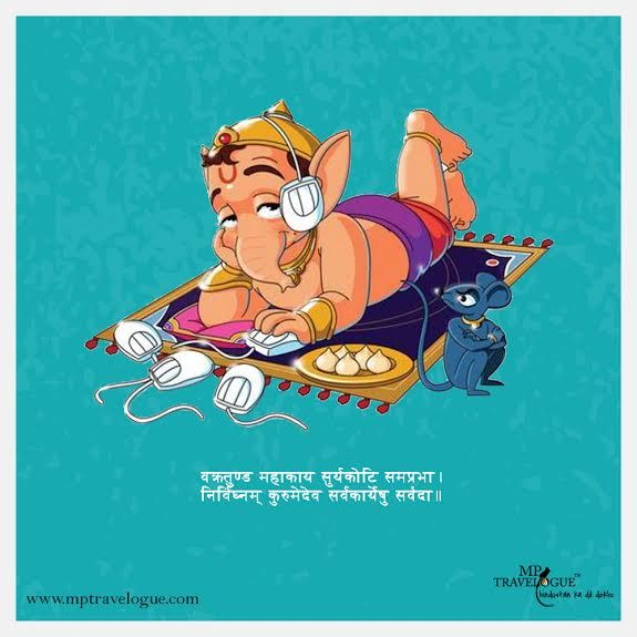 Ganesha in the House! Happy Ganesha Chaturthi all of You! :)