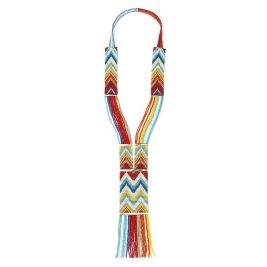 Yuchi, Woven Beaded Necklace, $187.5
