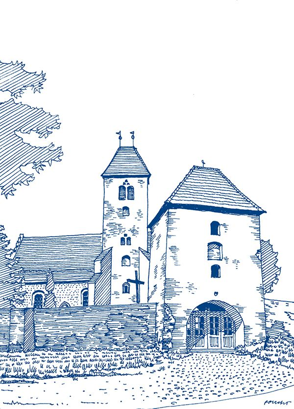 Seria rysunków odręcznych polskich regionów wykonanych dla nowych oddziałów PZU. Series of hand-made drawings of polish regions made for PZU Insurance.