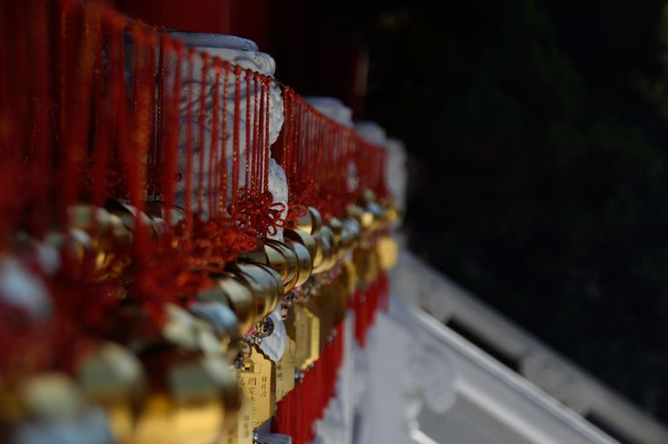 Bells in Wenwu Temple, Taiwan