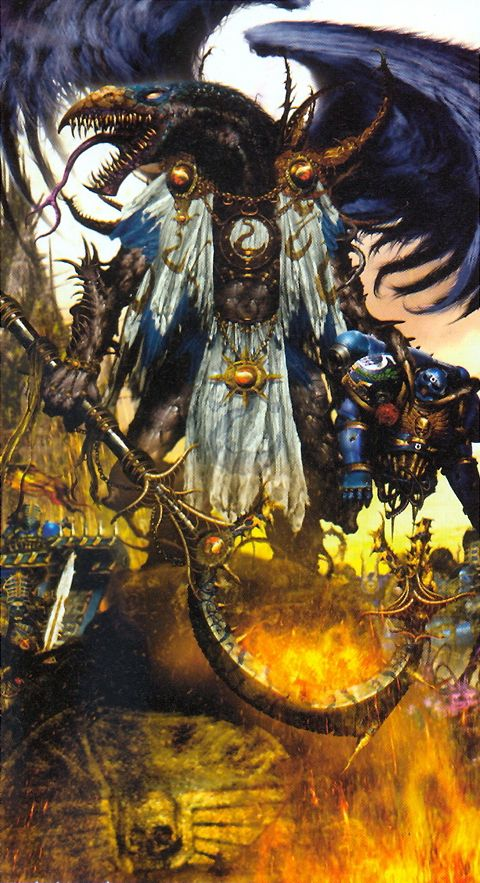 Greater Daemon - Warhammer 40K Wiki - Space Marines, Chaos, planets, and more