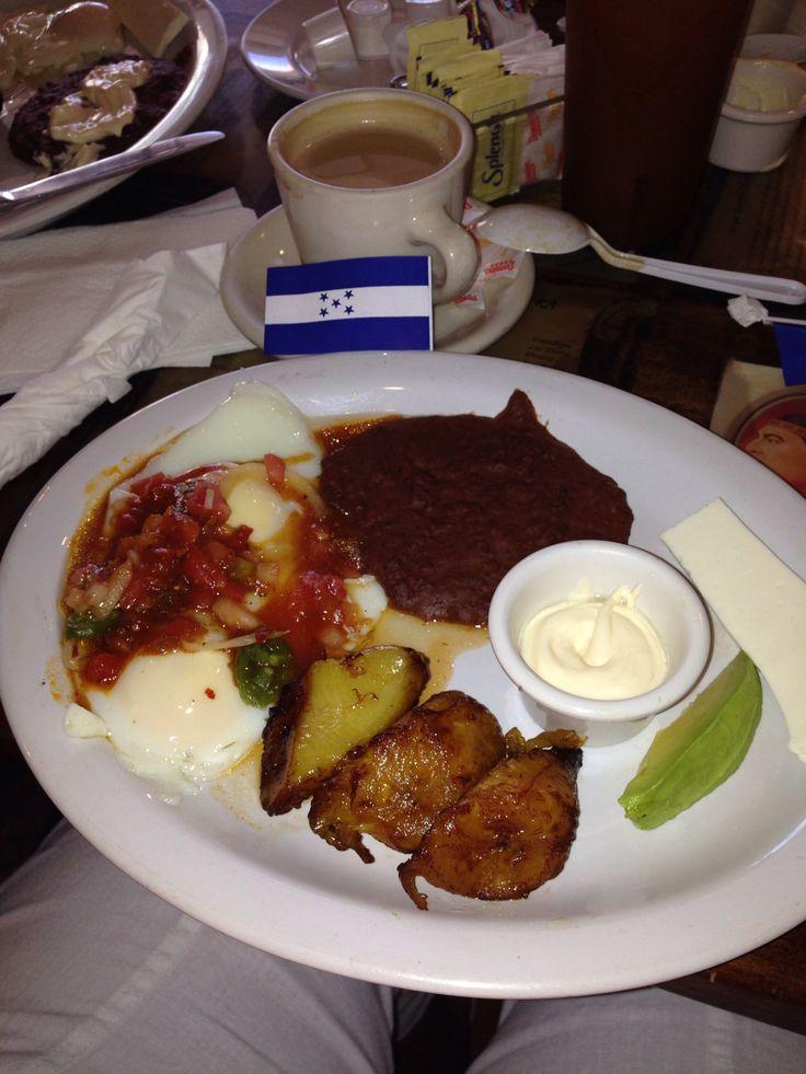 Honduran style breakfast @ Paseo Catracho , Calle Ocho Miami