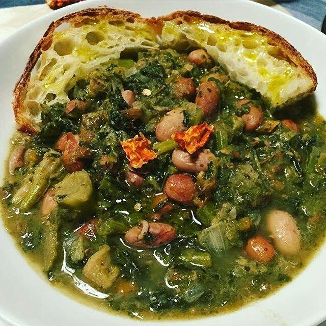 #TASTE_CORNER  Variante veg della ribollita By @dr_valentina_nutrizionista…