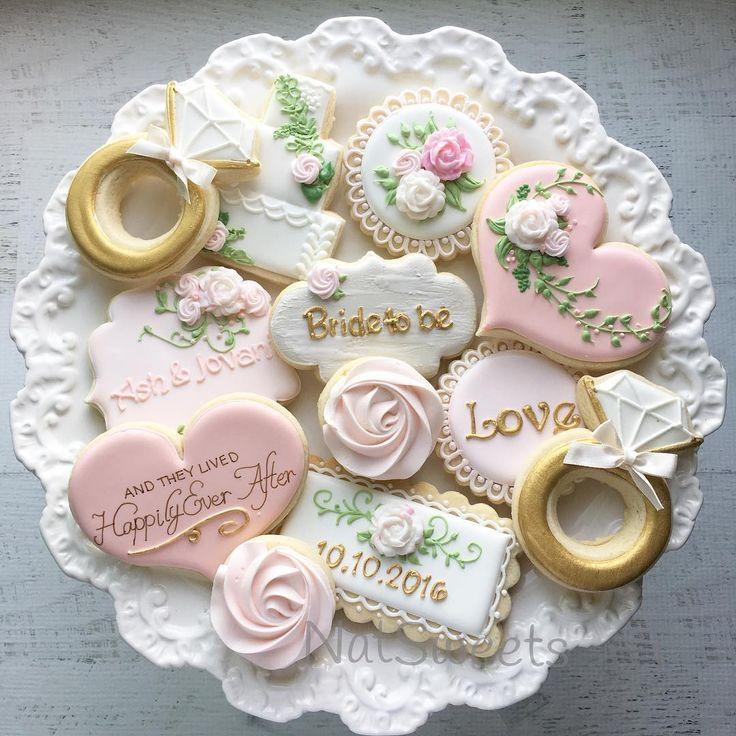 917 Best Wedding Cookies Images On Pinterest