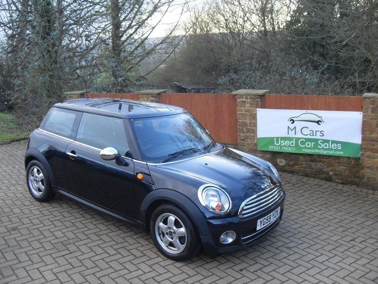 eBay: Mini Cooper 1.6 D Black Diesel 95K PX/Finance #minicooper #mini