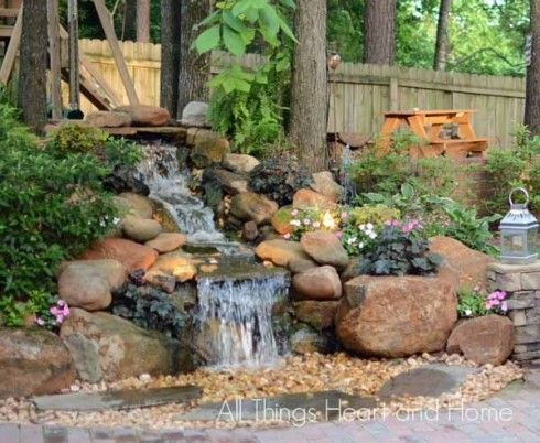 734 Best Images About Pondless On Pinterest Garden Fountains Backyard Waterfalls And Pond