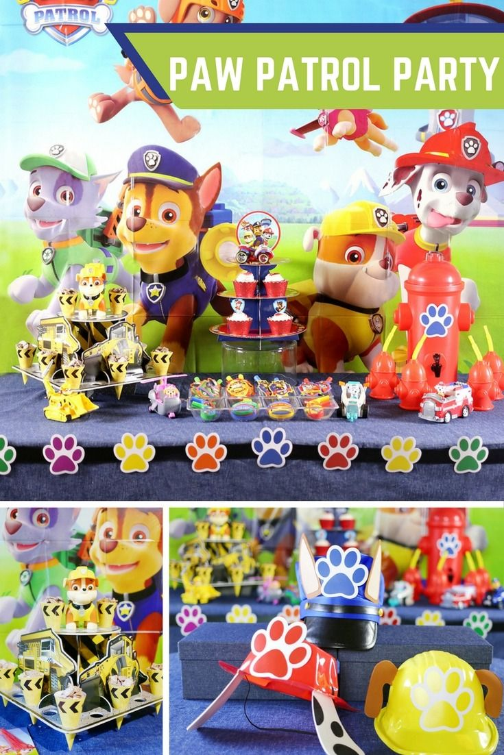 Do you have fans of Paw Patrol in your house? We do too! Most Paw Patrol™ fans watch the episodes all the time. Understandably, Paw Patrol™ parties are all the rage right now. Join @soireeevents for cute Paw Patrol™ party ideas and let birthday fun begin today!