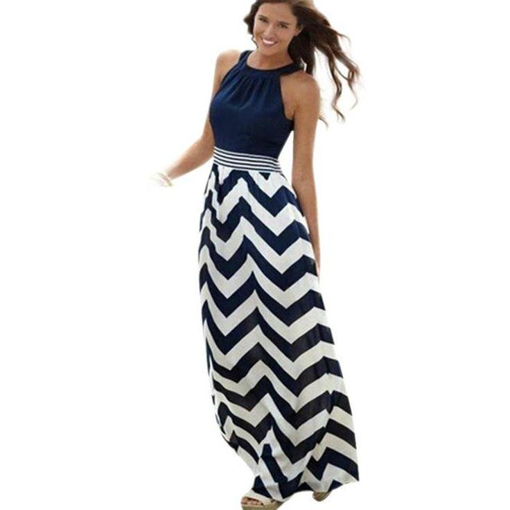 Dámské dlouhé šaty bez rukávů – L Na tento produkt se vztahuje nejen zajímavá sleva, ale také poštovné zdarma! Využij této výhodné nabídky a ušetři na poštovném, stejně jako to udělalo již velké množství spokojených …
