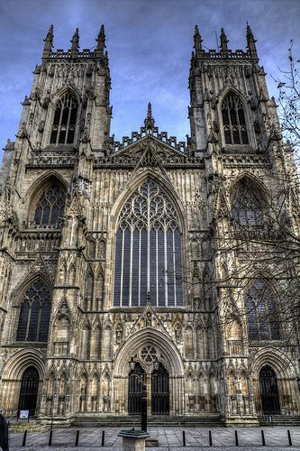 York Minster (HDR), York, England