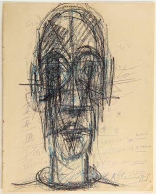 Fondation Giacometti - Découvrir l'œuvre - Alberto Giacometti Database - Arts graphiques