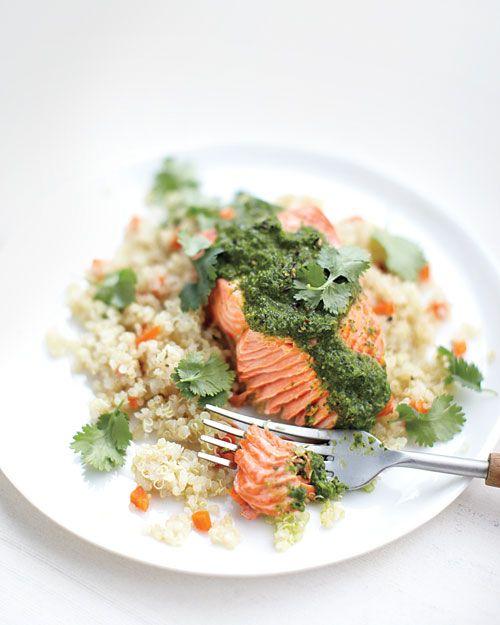 Moroccan Steamed Salmon with Quinoa and Carrots.: Quinoa Recipe, Chicken Recipe, Steam Salmon, Healthy Fat, Moroccan Steam, Detox Recipe, Carrots, Healthy Recipe, Salmon Recipe