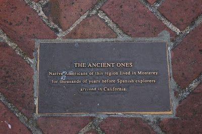La historia del Norte de California en plaquitas.   De Madrid a USA