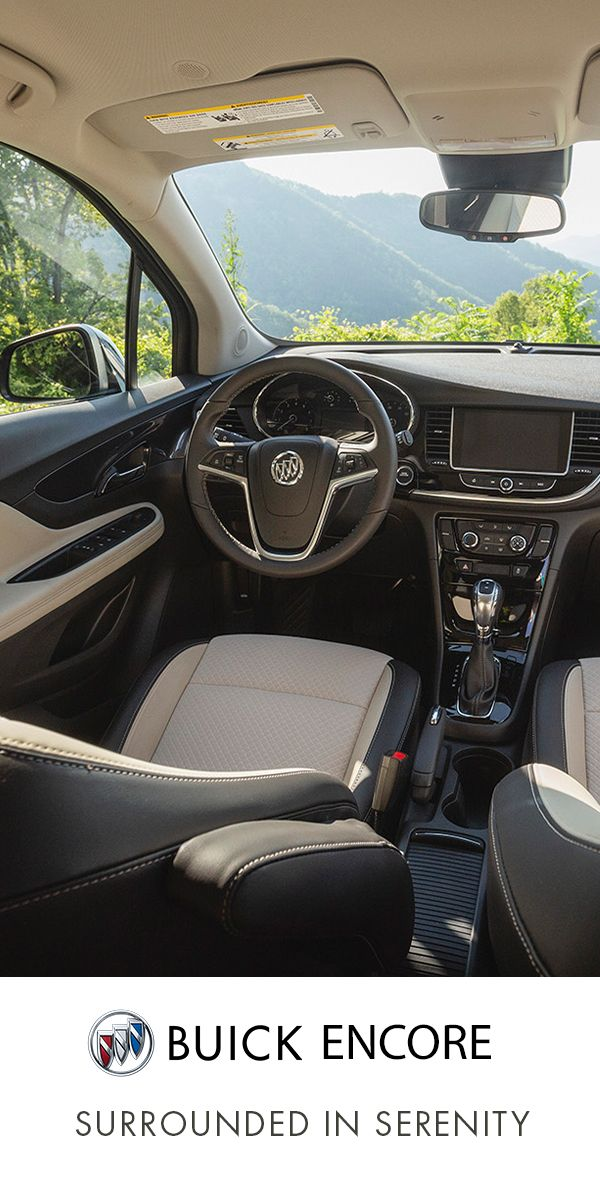 Buick Encore Offers Uplifting Refinement With Available Leather Appointed Front Seats In 2020 Luxury Suv Buick Encore Compact Suv