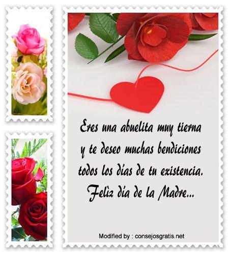 poemas para el dia de la madre,descargar mensajes bonitos para el dia de la madre: http://www.consejosgratis.net/feliz-dia-de-la-madre-para-mi-abuelita/