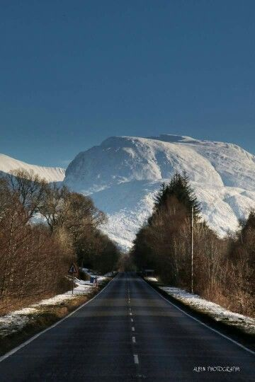 Amazing view of Ben Nevis.   Captures the scale.