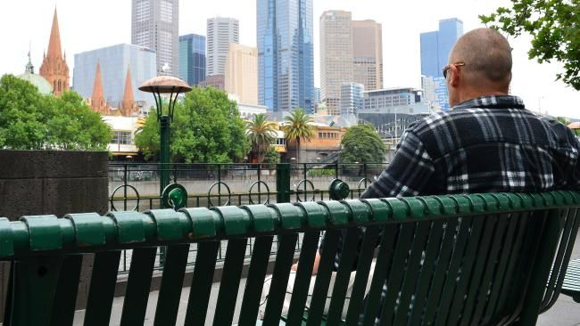 DIGGERS now represent almost one in 10 of the homeless people who are at risk of death on Melbourne's streets.