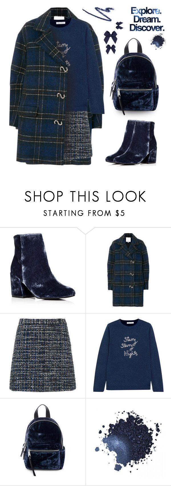 """""""Trendy in a plaid coat"""" by muse-charming ❤ liked on Polyvore featuring Trilogy, Kenneth Cole, TIBI, Alice + Olivia, Bella Freud, French Connection and Gee Beauty"""