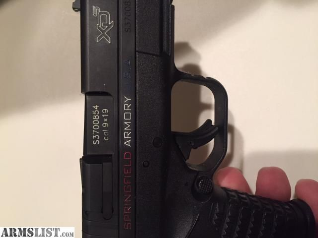For Sale/Trade:  SPRINGFIELD ARMORY XDS 3.3 9MM