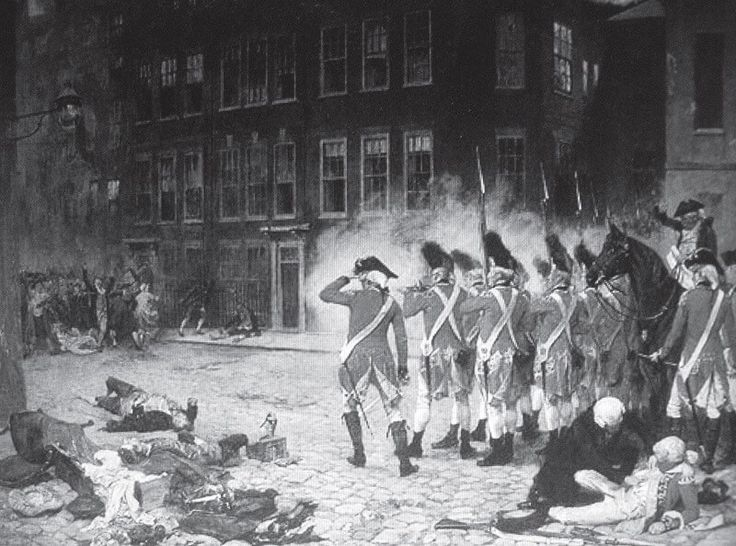 The late 18th century Gordon Riots in London was a week of utter turmoil where the city of London was severely damaged by 50'000 people burning, stealing and fighting their way through the streets.  Newgate Prison, the main prison in the area at that time, was entered, inmates were freed, and the Bank of England was a target for attack.  The military was brought in to restore order, and they killed hundreds as they did so.