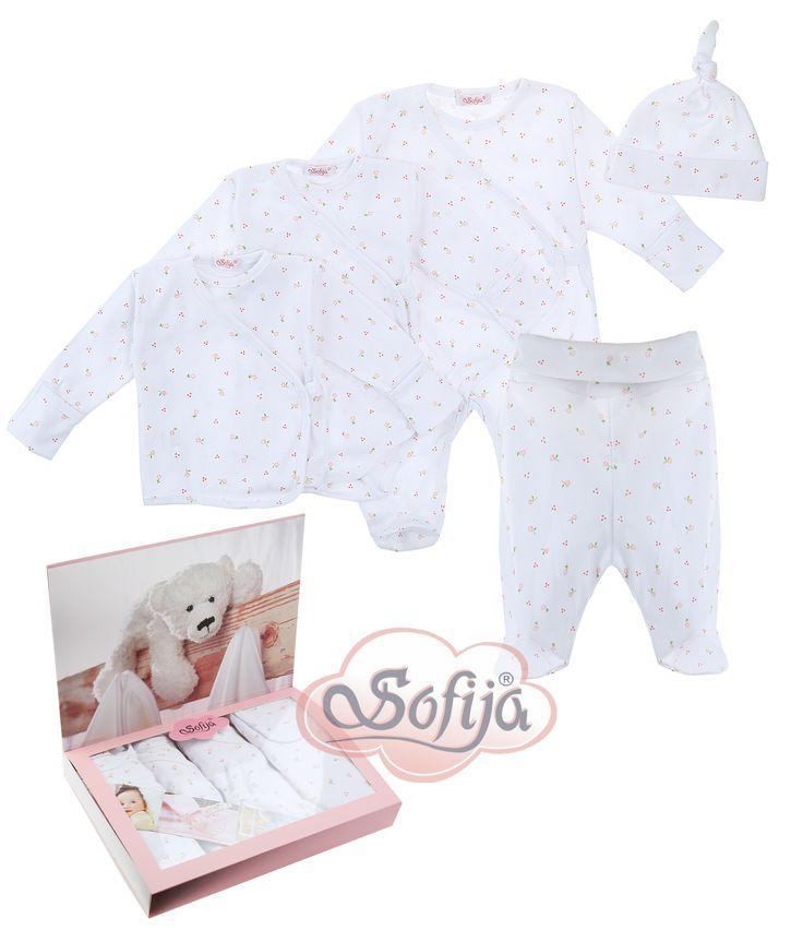 Komplet dla noworodka Iskierka  www.sofija.com.pl  #babyshower #babygift #kinder #babygeschenk #kids #baby #dziecko #prezent #niemowlak #wyprawka #sofija #ubranka #подарокребенку #ребенок