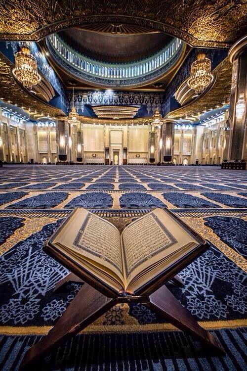 """Qur'an 41, Vers 33 """"""""Und wer ist besser in der Rede als einer, der zu Allah ruft und Gutes tut und sagt: """"""""Ich bin einer der Gottergebenen."""""""