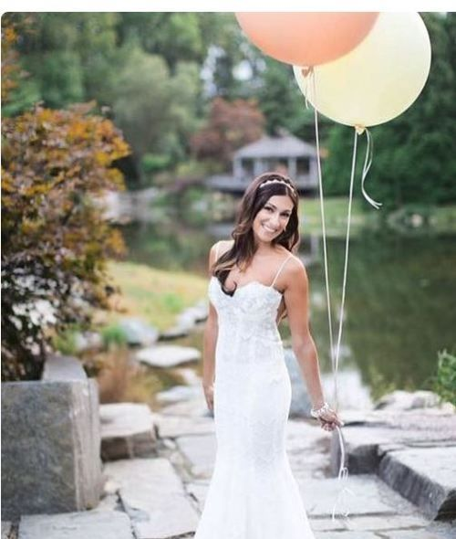Buy WEDDING BRIDAL PINK LATEX HUGE BALLOON - USED AS A PHOTO PROP - ALSO IN WHITE for R40.00
