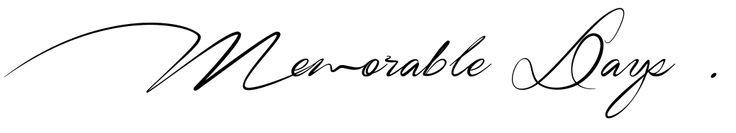Memorable Days - Beauty, Fashion & Lifestyle Blog
