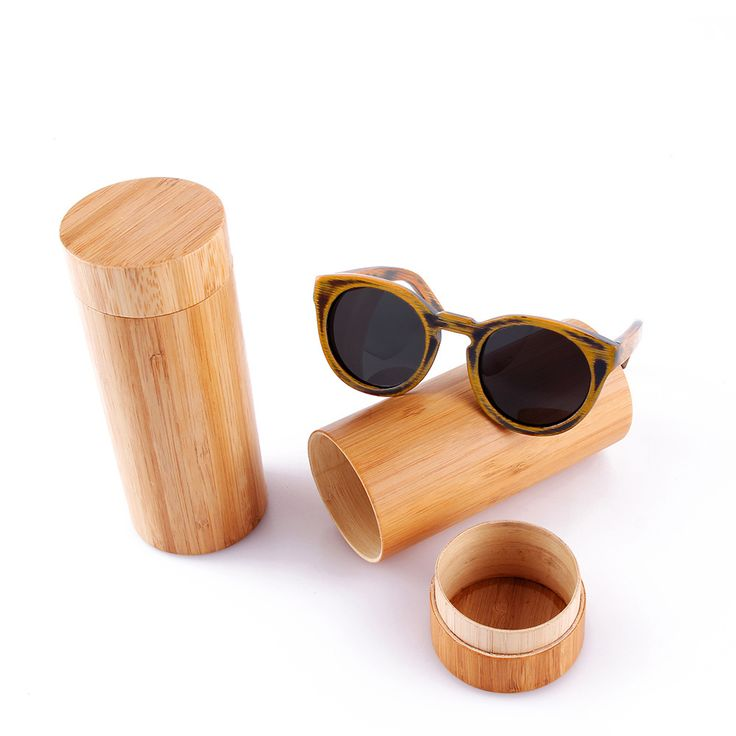 round frame bamboo sunglass 2016 fashion wooden sunglasses men women sun glasses