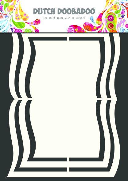 470.713.112 Dutch Doobadoo Shape Art Book