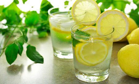 Zitronensaft-Kur